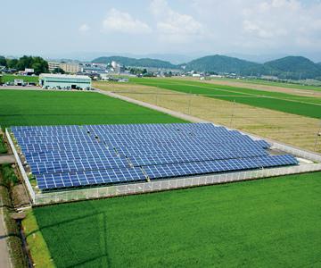 印田 ソーラー発電所 イメージ